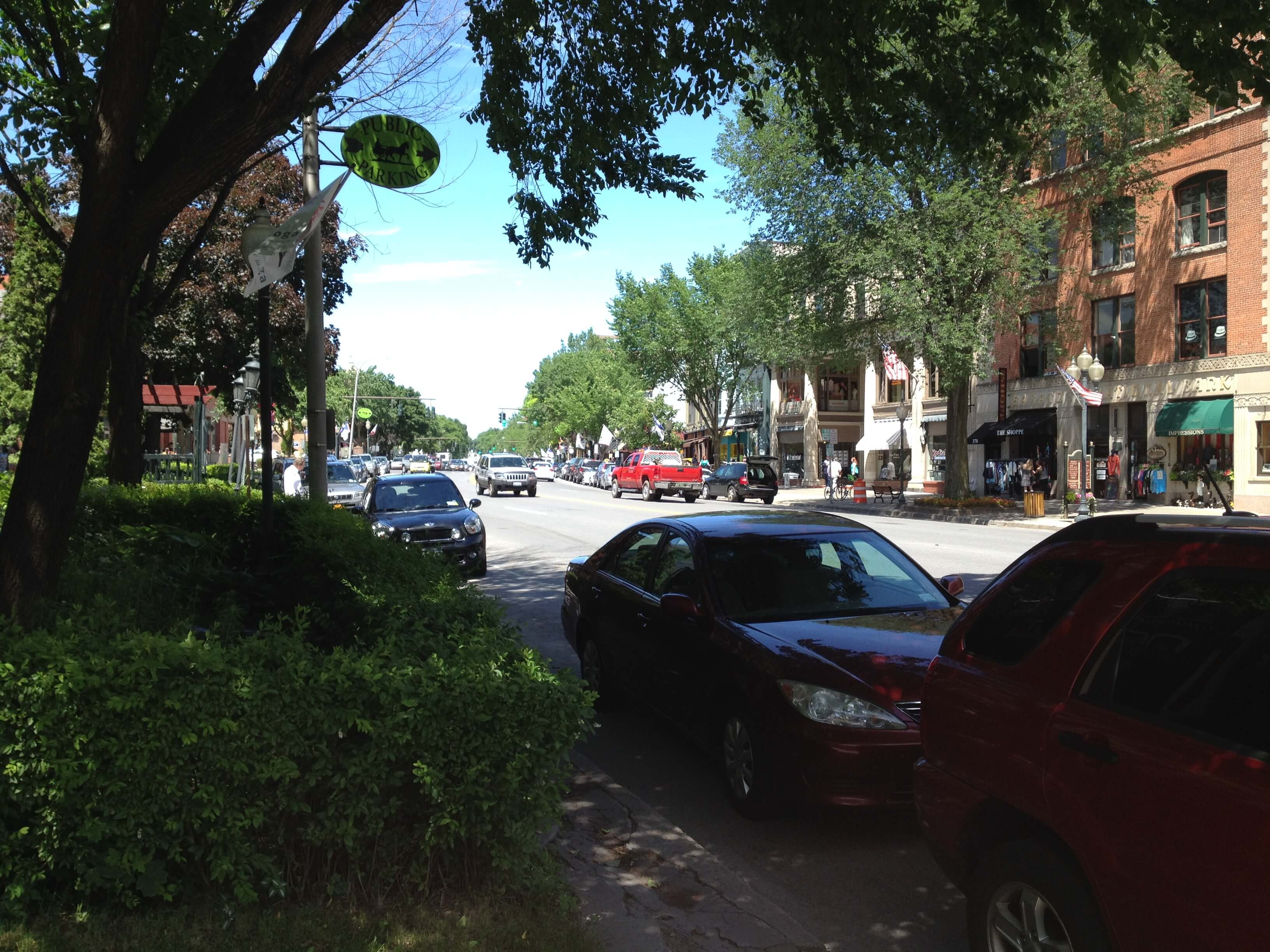 A Weekend Visit To Dog Friendly Saratoga Springs Ny