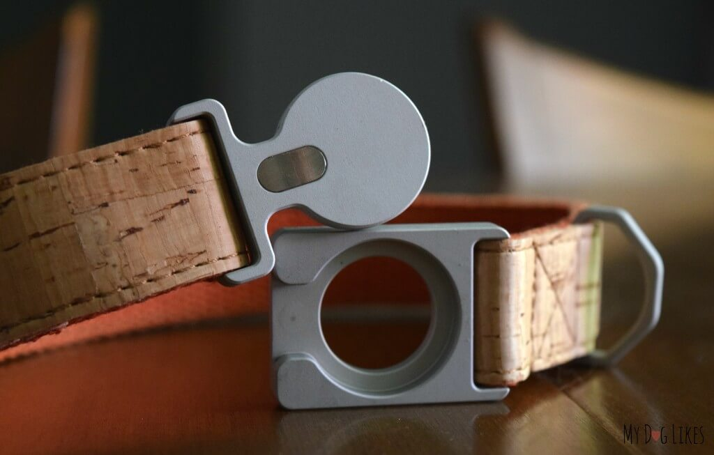 Mema Pets ALU Dog Collar: This beautiful collar is constructed of cork and aluminum