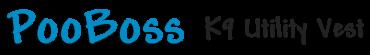 PooBoss Dog Vest Logo
