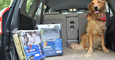 4Knines makes a wide variety of car seat covers for dogs. Check out the official MyDogLikes reviews to see how they worked for us!