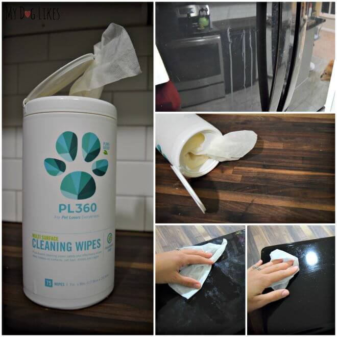 As you can see we found a variety of uses for these all Natural Cleaning Wipes!