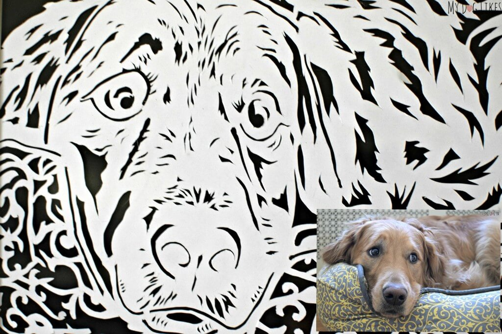 Browse the MyDogLikes store for a variety of paper cutting art including hand cut photograph recreations!