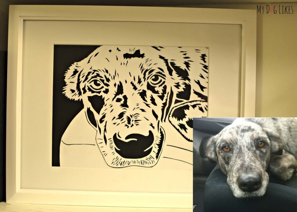 We will transform your own photo into a one-of-a-kind, hand cut piece of paper cutting art!