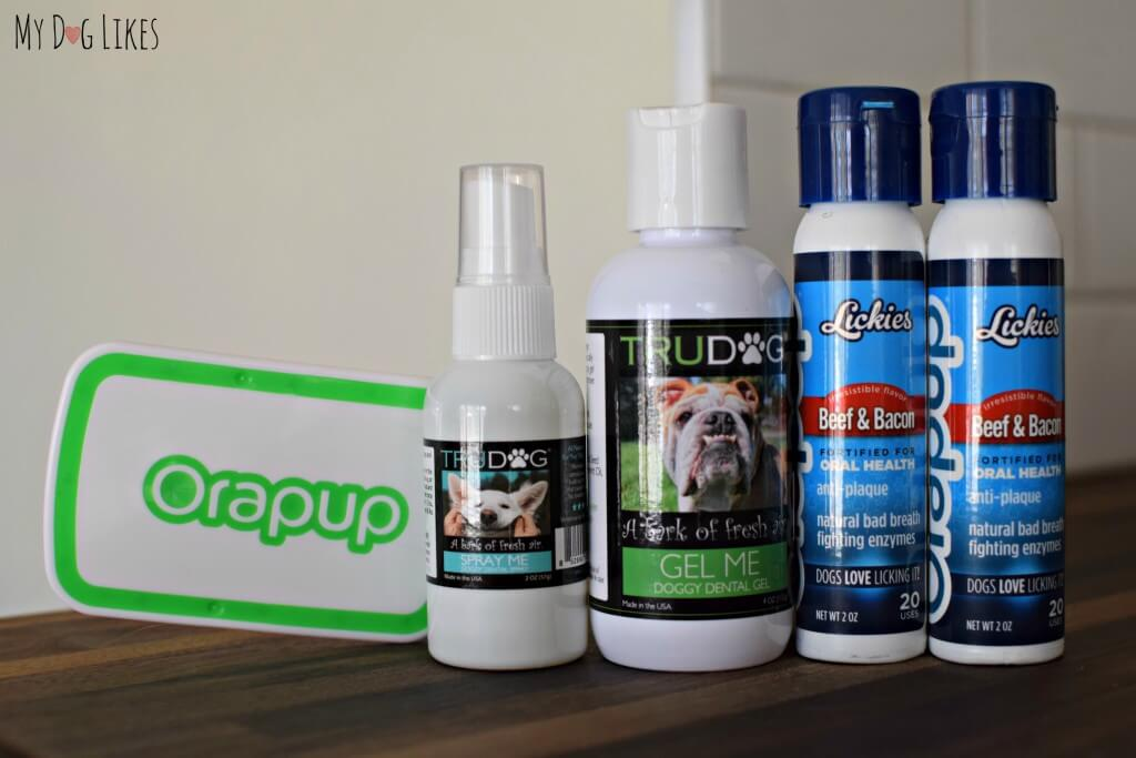 TruDog's dog dental health products line