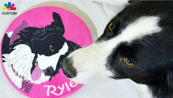 Personalized Dog Products from PrideBites - Get your dogs name and image stitched right in!