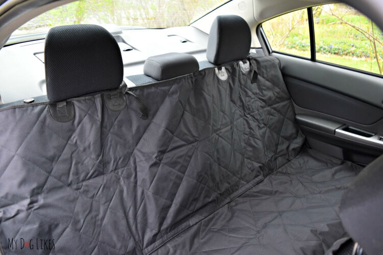 travelingpaws pet car seat cover review. Black Bedroom Furniture Sets. Home Design Ideas