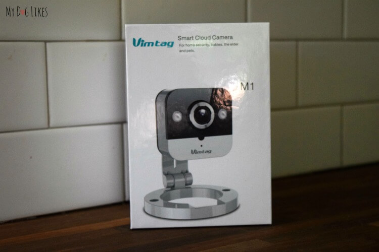 Click here for the MyDogLikes Vimtag M1 Camera Review. See how we use this wifi enabled camera to keep an eye on our pets.