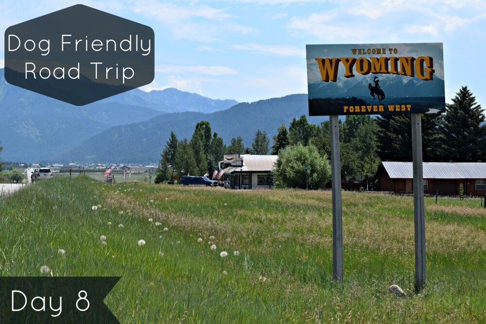 Tour of America Day 8 - Utah to Wyoming