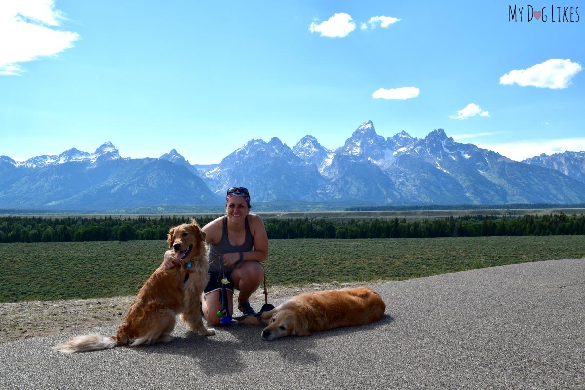 Posing In Front Of The Teton Range