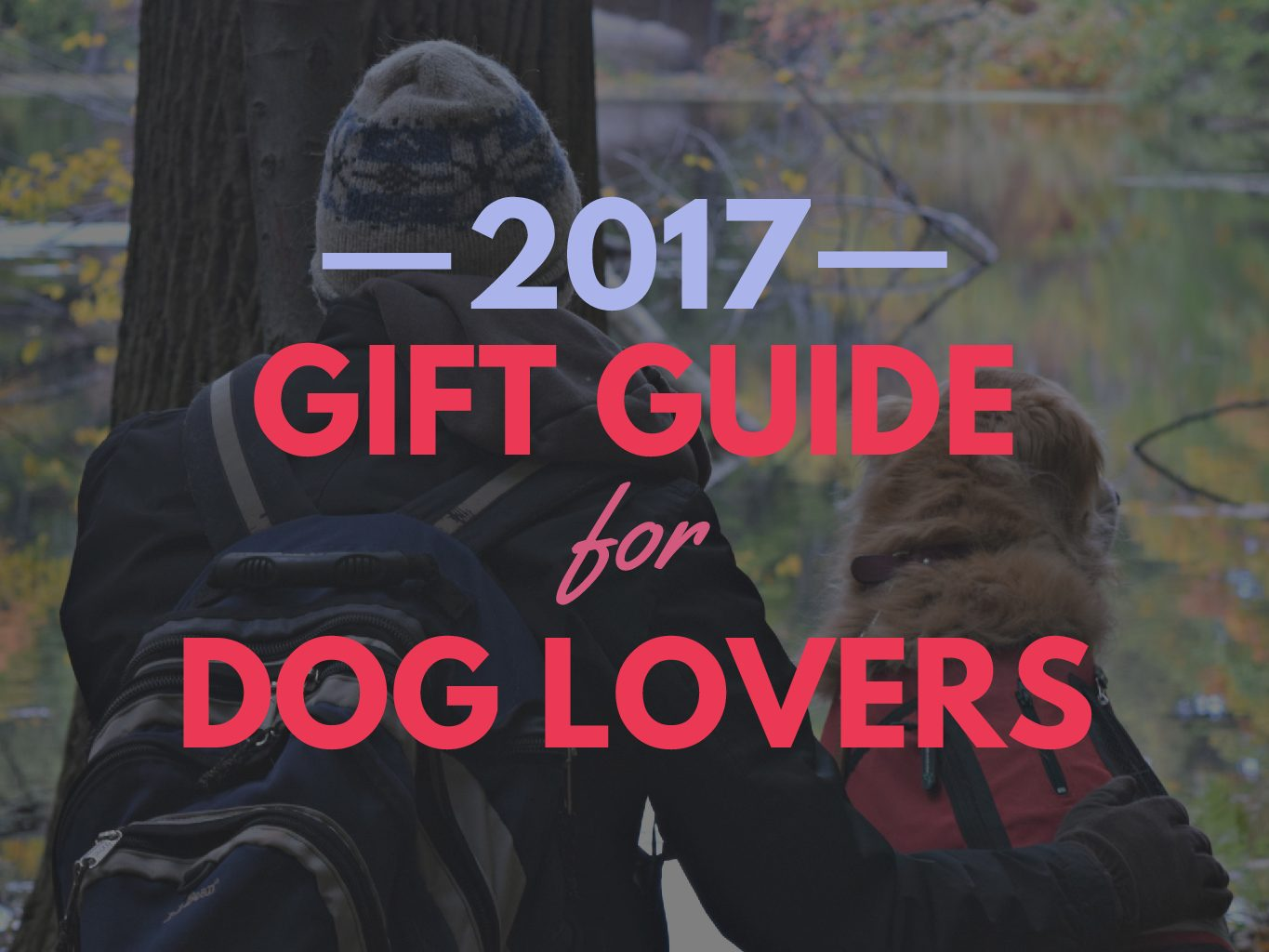 48 Awesome Gift Ideas for the Dog Lover in Your Life (2017)