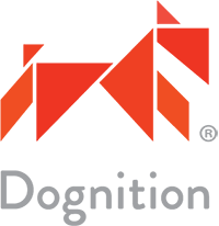 Transparent background logo for Dognition