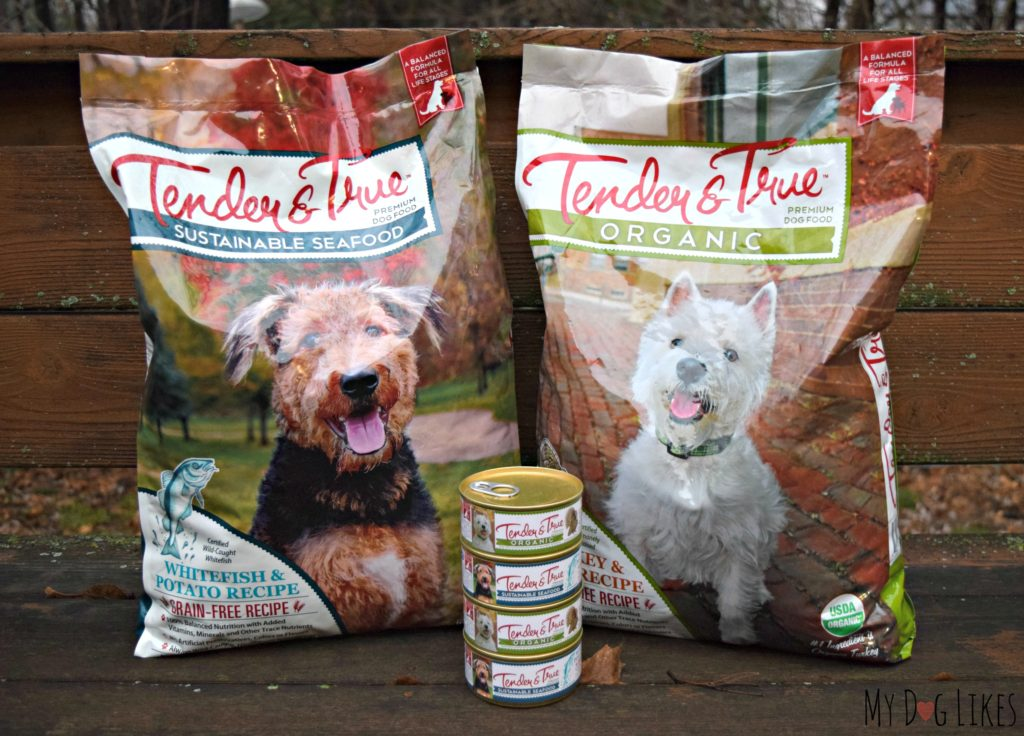 Grain free dog food recipe's from Tender & True