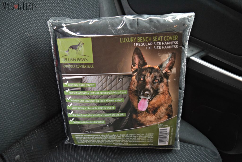 MyDogLikes Takes An In Depth Look At Plush Paws For Our Latest Pet Seat Cover Review