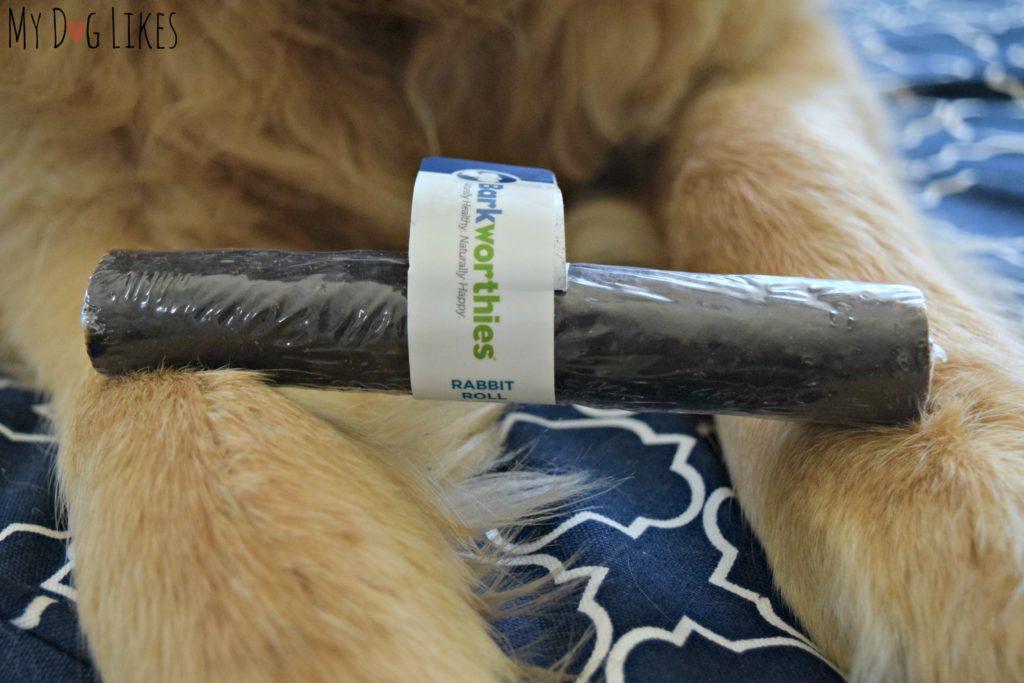 Barkworthies Rabbit Roll