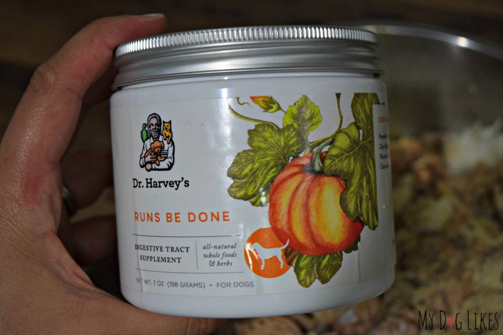 Dr. Harvey's Runs Be Done is an all natural herbal supplement to aid digestion
