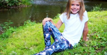 Children's Dog Print Leggings